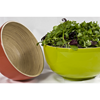 "11x5.5"" (28x14cm) Green Bamboo Bowl"
