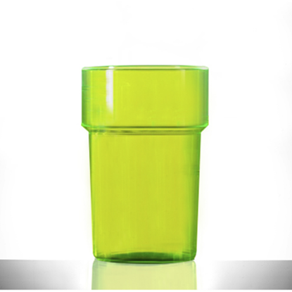 Green Polystyrene Tumbler CE Stamped 28.5cl (10oz)