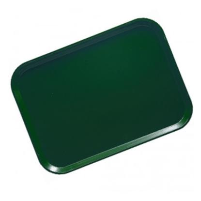 "Green Service Tray 17.9x14"" (45.5x35.5cm)"