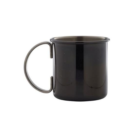 Gun Metal Black Straight Mug 50cl (17.5oz)