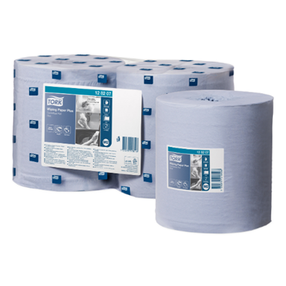 Tork Blue Wiping Paper Plus