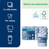 Tork Reflex Blue Wiping Paper 429