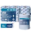 Reflex Blue Wiping Paper 429 Tork