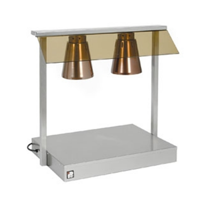 Heated 2 Lamp Carving Unit