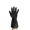 Heavy Duty Black Rubber Gloves Large Size 9