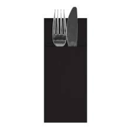 Black 8 Fold Pop In Napkin