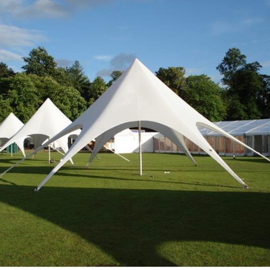 Single Peak Star Tent