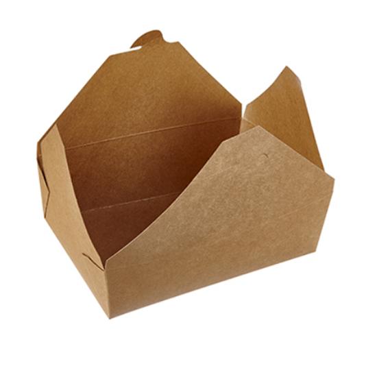 Kraft Box No 4 Food Container