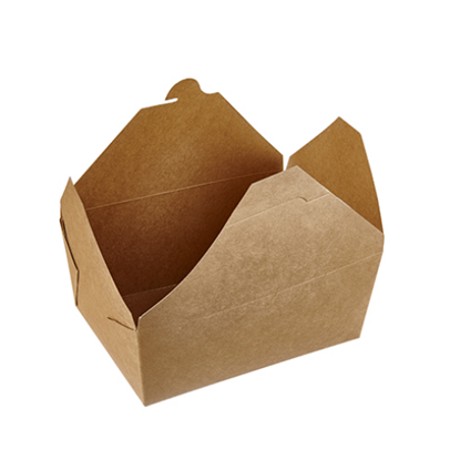 Kraft Box No 8 Food Container