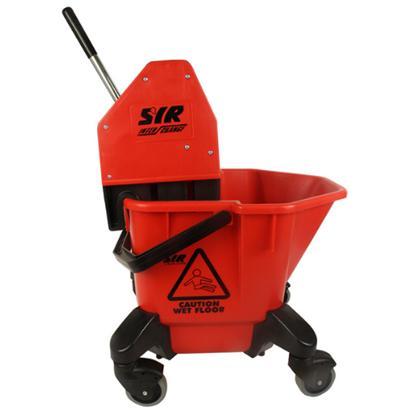 SYR C20/C4 Red Mop Bucket & Wringer