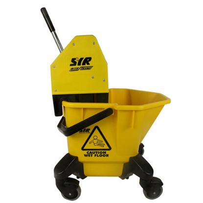 Yellow Mop Bucket & Wringer