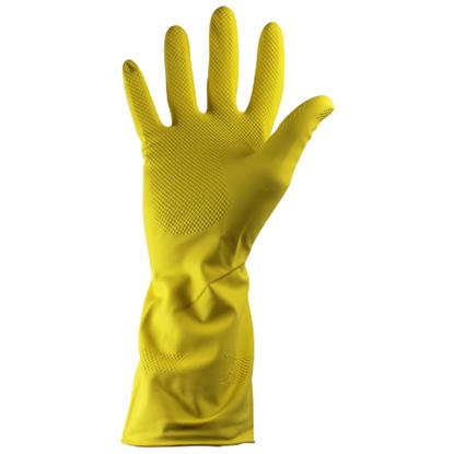 Yellow Rubber Gloves Medium