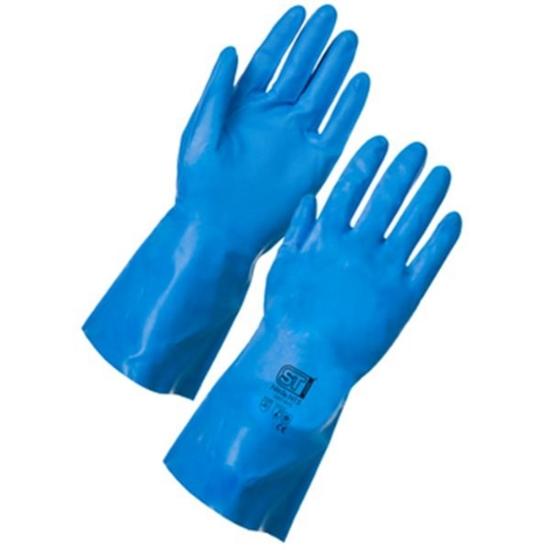 Nitrile Gloves Blue Size Medium