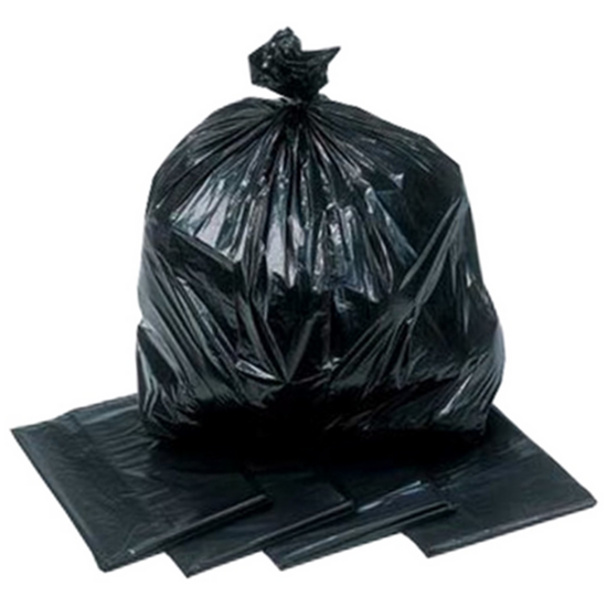 "Standard Black Refuse Sack 29x38"" (73.7x96.5cm)"