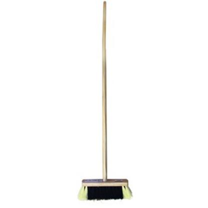 """Household Wooden Sweeping Brush 12"""" (30cm)"""