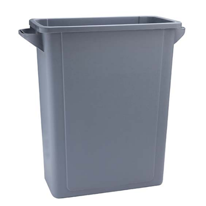 Rubbermaid Grey Slim Jim Waste Container 60L