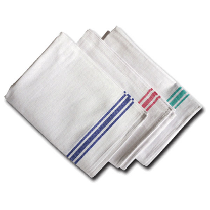 """Assorted Coloured Catering Cloth 18.5x28"""" (47x71cm)"""