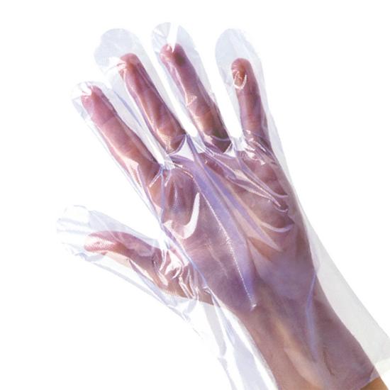 Shield Clear Polythene Medium Disposable Gloves
