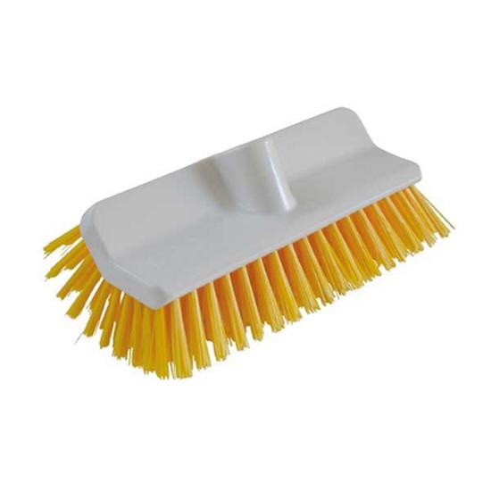 "Yellow Deck Scrub 9.5"" (24cm)"