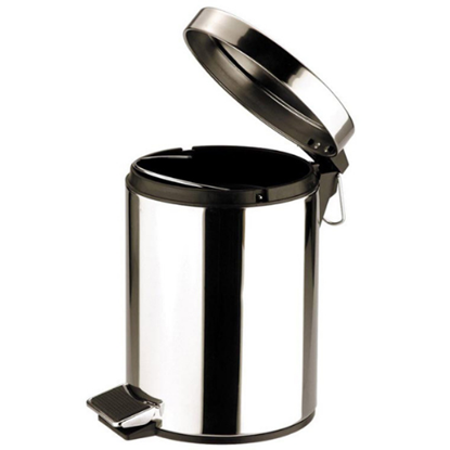 Stainless Steel Pedal Operated Bin 12L