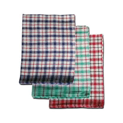 "Mini Check Tea Towel 18.1x26.8"" (46x68cm)"