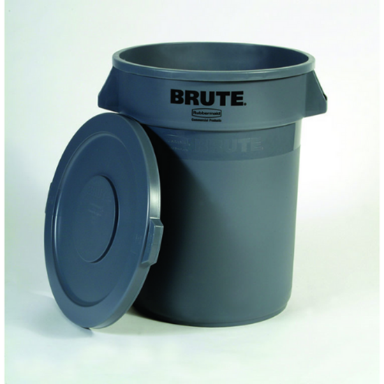 Rubbermaid Grey Brute Container 75.5L