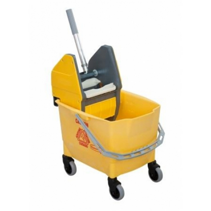 Rubbermaid Yellow Bravo Mop Bucket & Wringer