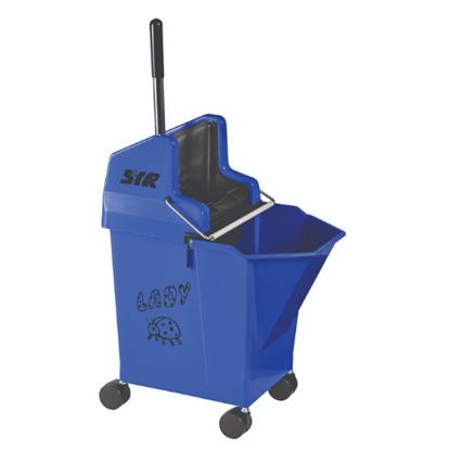 SYR Blue Mobile Mop Bucket & Wringer