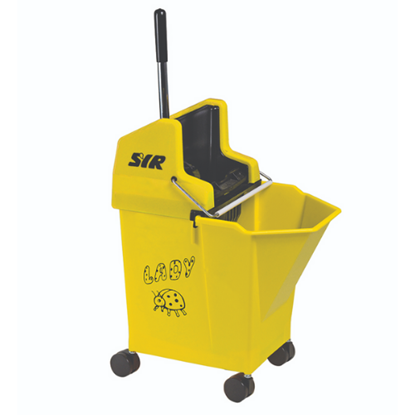 SYR Yellow Mobile Mop Bucket & Wringer