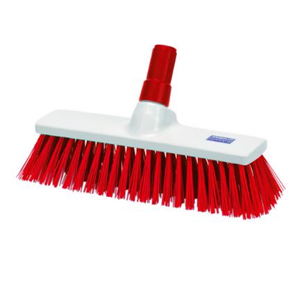 Red Stiff Brush Head