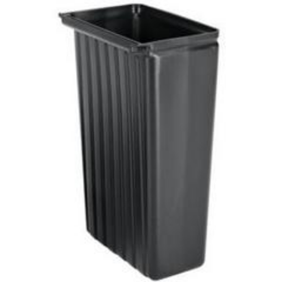 Refuse Bin For Utility Cart