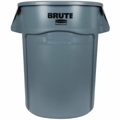 Rubbermaid Grey Brute Container 167L