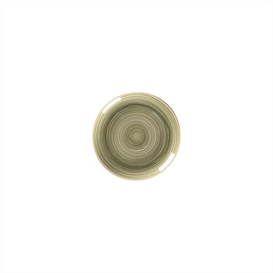 "Rakstone Spot Emerald Coupe Plate 8"" (18cm)"