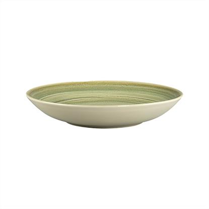 """Rakstone Spot Emerald Deep Coupe Plate 10.2"""" (26cm) side"""