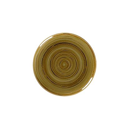 "Rakstone Spot Garnet Coupe Plate 10.6"" (27cm)"