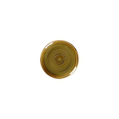 "Rakstone Spot Garnet Coupe Plate 8"" (18cm)"