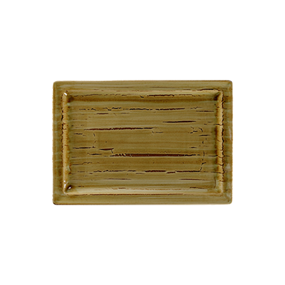 "Rakstone Spot Garnet Rectangle Plate 13x9"" (33x23cm)"