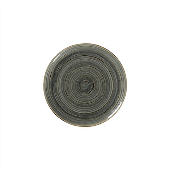 """Rakstone Spot Peridot Coupe Plate 10.6"""" (27cm)"""