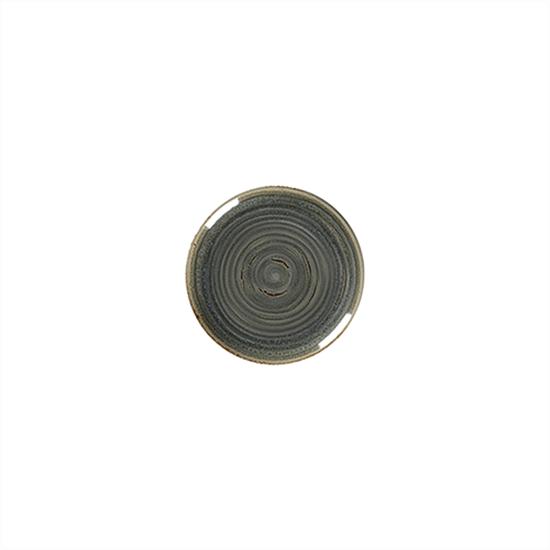"""Rakstone Spot Peridot Coupe Plate 8"""" (18cm)"""