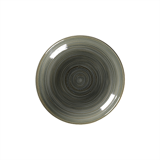 "Rakstone Spot Peridot Deep Coupe Plate 11.8"" (30cm)"