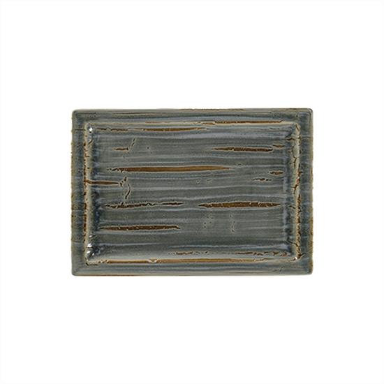 "Rakstone Spot Peridot Rectangle Plate 13x9"" (33x23cm)"