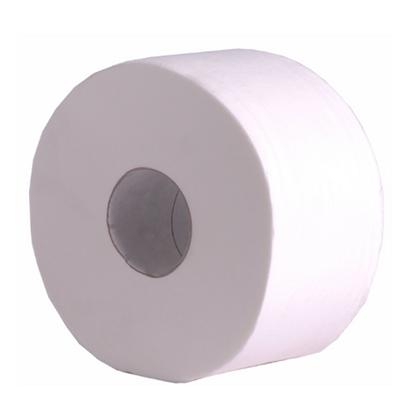 Mini Jumbo White Toilet Tissue 2 Ply 200m/76mm