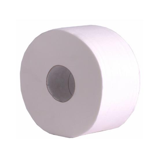 Jumbo White 2 Ply Toliet Tissue 400mx76mm