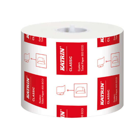 Katrin Classic System Toilet Roll 2 Ply 800 Sheet