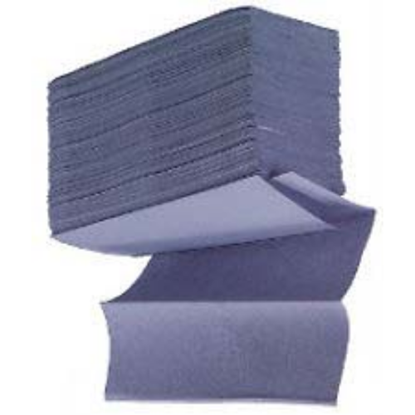 Interfold Paper Blue Fold Towels 1 Ply 200 Sheet