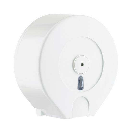 """White Mini Jumbo Dispenser 11x10.4x4.7"""" (28x26.5x12cm)"""