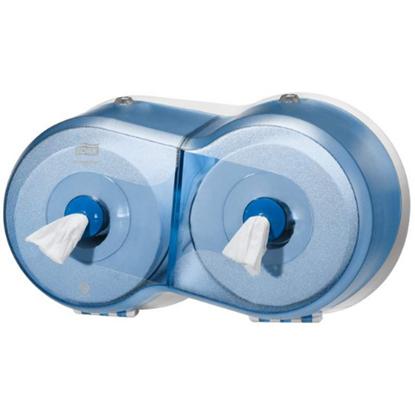 """Mini Smartone Blue Double Dispenser 15.7x9x7.1"""" (40x23x18cm)"""