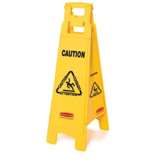 "Rubbermaid Tall Wet Floor Sign 37"" (94cm)"