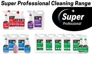 Super Professional Cleaning Range