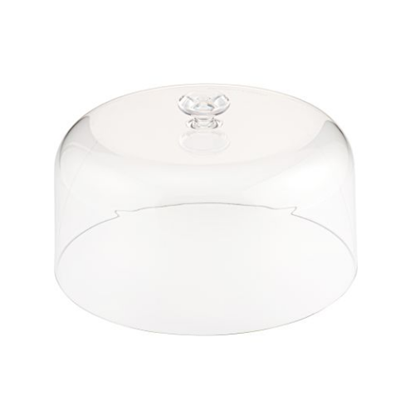 Clear SAN Lid With Handle 270mm